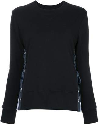 Sacai lace-up jumper