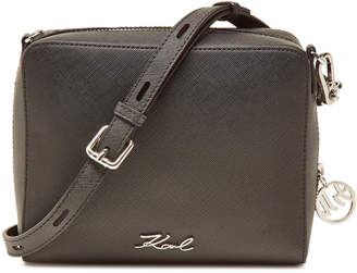 Karl Lagerfeld K/Tokyo Crossbody Bag with Leather