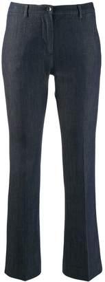Pt01 kick flare trousers
