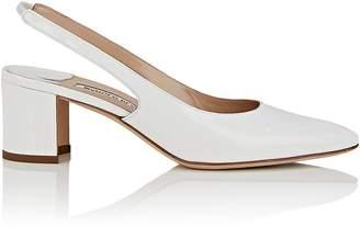 Manolo Blahnik Women's Allurasa Patent Leather Slingback Sandals