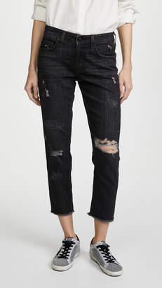Derek Lam 10 Crosby Mila Mid Rise Slim Girlfriend Jeans