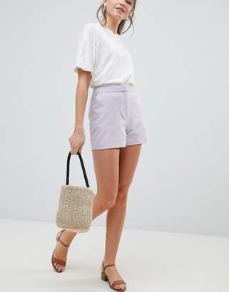 Asos Design DESIGN tailored a-line shorts