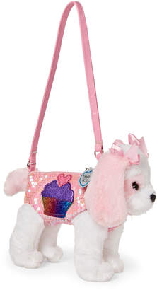 Confetti Girls 4-6x) Pink King Charles Cavalier Sequin Handbag