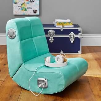 Pottery Barn Teen Suede Mini Rocker Speaker Chair, Pool