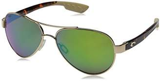 Costa del Mar Loreto Polarized Iridium Aviator Sunglasses