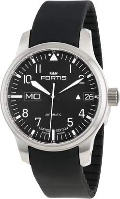 Fortis Men's 700.10.81 K F-43 Flieger Automatic Leather Date Watch