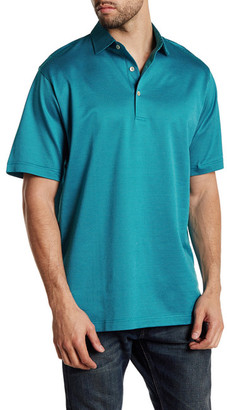 Peter Millar Three Color Pin Dot Polo $98 thestylecure.com