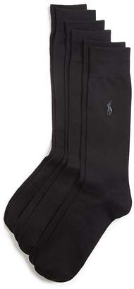 Polo Ralph Lauren Solid Dress Socks, Pack of 3 $23 thestylecure.com