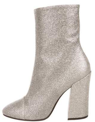 Dries Van Noten Glitter Mid-Calf Boots