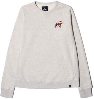By Parra CREW NECK SWEATER RETIRED RACER