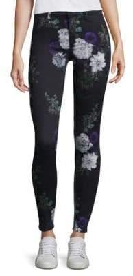 J Brand Forest Floor Floral Pants