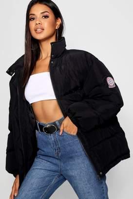 boohoo Sporty Puffer Jacket