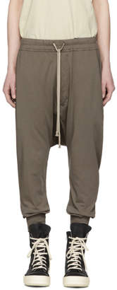 Rick Owens Grey Prisonner Lounge Pants