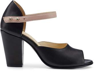 Nine to Five - Ankle Pump Coline Black Rose