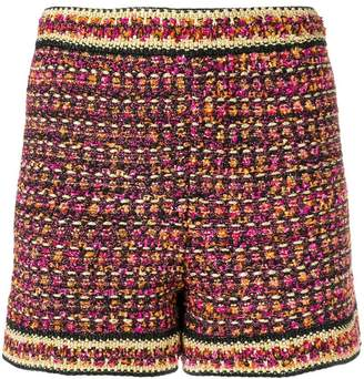 M Missoni tweed shorts