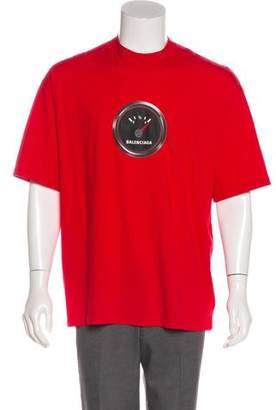 Balenciaga 2019 Shrunk Speed T-shirt w/ Tags