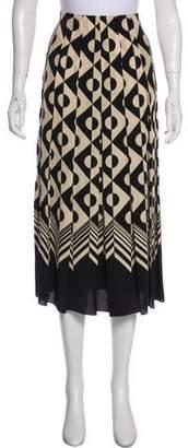 Gucci Silk Midi Skirt