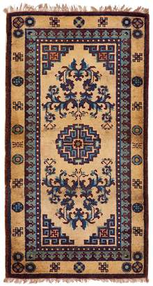 "Fly London ABC Home Vintage Chinese Wool Rug - 2'4""x4'7"""