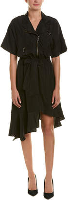Nicole Miller Silk A-Line Dress