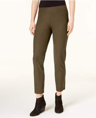 Eileen Fisher Washable Crepe Slim-Leg Ankle Pants, Regular & Petite