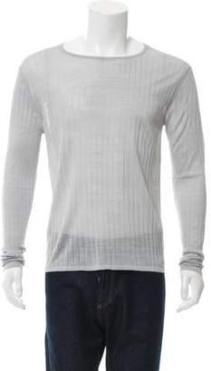 Jeffrey Rüdes Silk Rib Knit Sweater w/ Tags