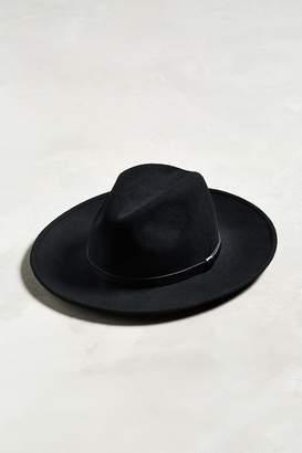 7580fd2ea Mens Black Wide Brim Hat - ShopStyle Canada