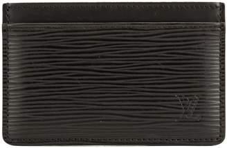 Louis Vuitton Noir Epi Simple Card Holder (4013020)
