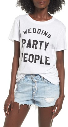 Women's Sub_Urban Riot Wedding Party People Graphic Tee $36 thestylecure.com