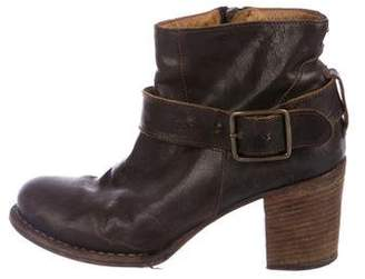 Fiorentini+Baker Leather Ankle-Strap Booties