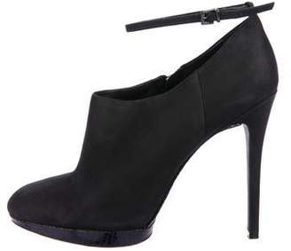Brian Atwood Leather Ankle Booties