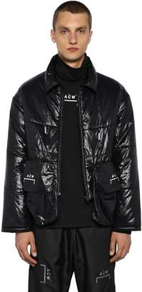 A-Cold-Wall* Oversized Cargo Nylon Puffer Jacket