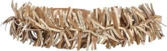 Brunello Cucinelli Leather Fringe Tie Belt