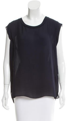 3.1 Phillip Lim 3.1 Phillip Lim Sleeveless Silk Top