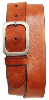 Men's Magnanni Guodi Leather Belt $135 thestylecure.com