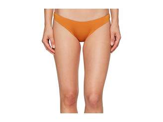 Dolce Vita Solids High Cut Leg Bottom Women's Swimwear
