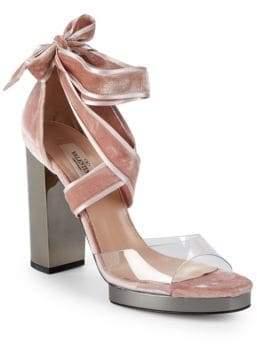 Valentino Strap Heel Sandals
