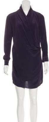 RED Valentino Silk Mini Dress