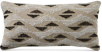 "Hotel Collection Closeout! Global Stripe 14"" x 20"" Decorative Pillow, Created for Macy's Bedding"