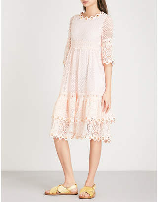 Maje Roso guipure lace dress