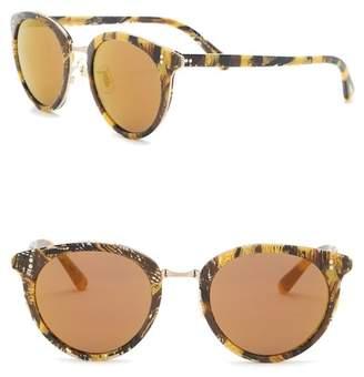 Oliver Peoples Spellman 50mm Round Sunglasses