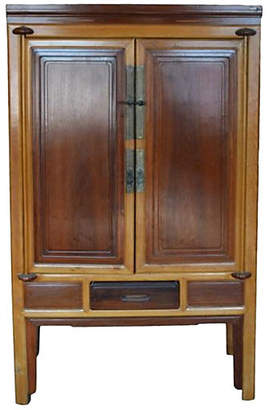 One Kings Lane Vintage Antique Ningbo Armoire - FEA Home