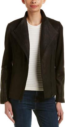 T Tahari Leather Jacket