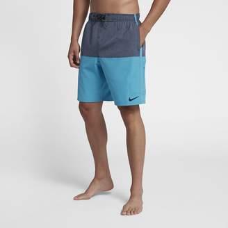 "Nike Heather Split Volley Short Men's 9"" Swim Trunks"