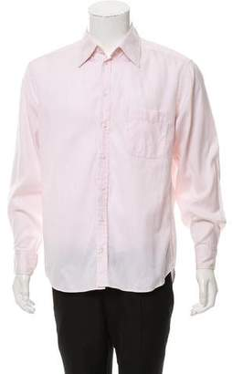 Giorgio Armani Long Sleeve Button-Up Shirt