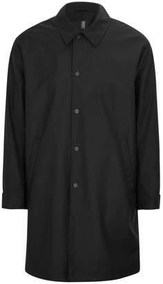 J. Lindeberg Cycle Black Wool Blend Coat
