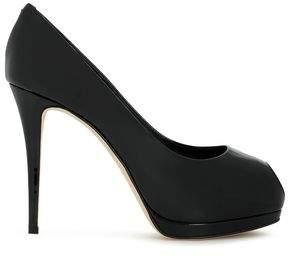 d7f1c6f62d0 Black Patent Leather Platform Pumps - ShopStyle