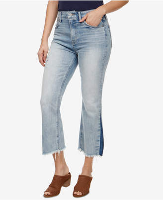 Lucky Brand Bridgette High-Rise Crop Flare Jeans