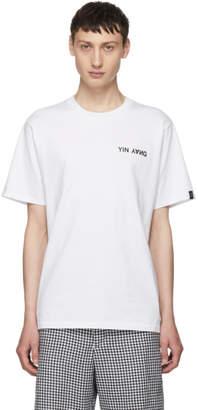 Rag & Bone White Yin Yang T-Shirt