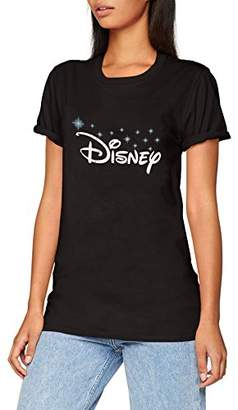 Disney Women's Logo T-Shirt,(Manufacturer Size: X-Large)