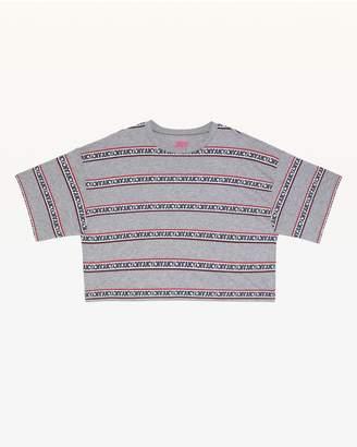Juicy Couture JXJC Repeat Juicy Logo Stripe Tee